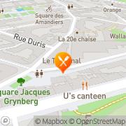Carte de Synersoft S.A. Paris, France