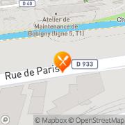 Carte de PANI FRANCE Bobigny, France