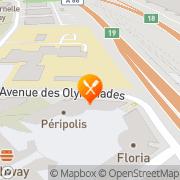 Carte de S.A.P. France S.A. - Systèmes Applications et Progiciels Fontenay-sous-Bois, France