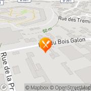 Carte de S.I.P.M. S.A. - Société Industrielle de Précision Mécanique Fontenay-sous-Bois, France