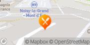 Carte de Waffle Factory Noisy le Grand Noisy-le-Grand, France