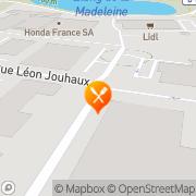 Carte de Wieland SA Croissy-Beaubourg, France