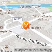 Carte de BANETTE SAS Briare, France
