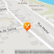 Carte de Robin Industries S.A. Vulaines-sur-Seine, France