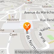 Carte de BOULANGERIE DE LA VICTOIRE SA Compiègne, France