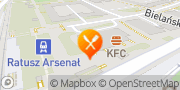 Mapa Pizza Hut Warszawa Gruba Kaśka Warszawa, Polska