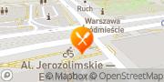 Mapa Panorama Bar Warszawa, Polska