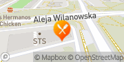 Mapa Pizza Hut Dostawa Warszawa Wilanowska Warszawa, Polska