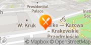 Map La Cantina Warsaw, Poland