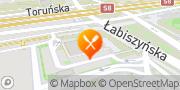 Mapa Pizza Hut Warszawa Toruńska Warszawa, Polska