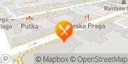 Mapa Porto Praga Warszawa, Polska