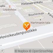 Kartta Kaffehuset August Vaasa, Suomi