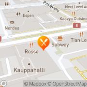 Kartta Ravintola Rosso Vaasa, Suomi