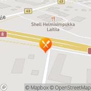 Kartta Kahvila-Ravintola Wilhelmiina &  Waltteri Laitila, Suomi