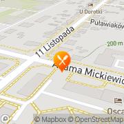 Mapa Sieradzka Małgorzata. Pizzeria Sandomierz, Polska