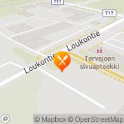 Kartta Lounas-Kirsikka Ky Tervajoki, Suomi