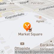 Kartta Tori Burger Turku, Suomi