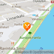 Kartta Ravintola Smör Turku, Suomi