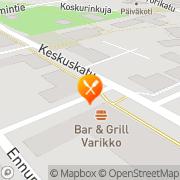 Kartta Pizzeria AnnMarii Kankaanpää, Suomi