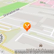 Mapa Zajazd Anna Lublin, Polska