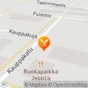 Kartta Pizza-Kebab Selvi Punkalaidun, Suomi