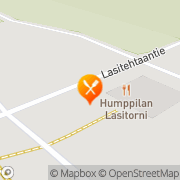 Kartta Humppilan Lasitorni Oy Humppila, Suomi