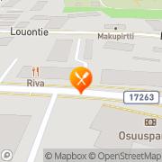 Kartta Ravintola-Pizzeria Tropicana Alavus, Suomi