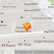 Kartta Music Bar Sputnik Tampere, Suomi