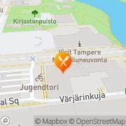 Kartta Tempo Tampere, Suomi