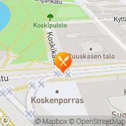 Kartta Faasai Thaimaalainen Ravintola Tampere, Suomi