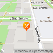Kartta Lounasravintola vanha Ike Tampere, Suomi