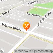 Kartta Ravintola Escape Ky Riihimäki, Suomi