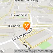 Kartta Ravintola Ukkohauki Espoo, Suomi
