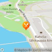 Kartta Ravintola Mestaritalli Helsinki, Suomi