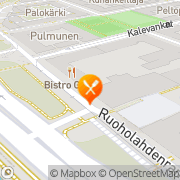 Kartta Ravintola Viola Helsinki, Suomi