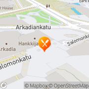 Kartta Fujivillage Helsinki, Suomi