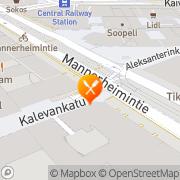 Kartta Cochon Café &  Bakery Helsinki, Suomi