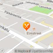 Kartta Ravintola Elmstreet Helsinki, Suomi