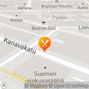 Kartta Pikku Satama, Ravintola Helsinki, Suomi