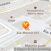 Kartta McDonald's Helsinki, Suomi