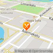 Kartta Tatuointi- ja lävistysliike Igor' s Oulu, Suomi