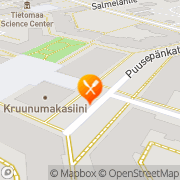Kartta Pub Alakerta Oulu, Suomi