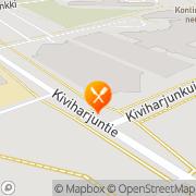 Kartta Kanresta, Oulun Kaupunginsairaalan Kahvio Oulu, Suomi