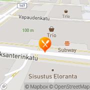 Kartta McDonald's Lahti, Suomi