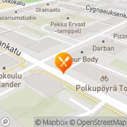 Kartta Ravintola Sohwi Jyväskylä, Suomi