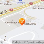 Kartta Kahvila Syke, Jyväskylän yliopiston liikuntarakennuksen kahvio Jyväskylä, Suomi