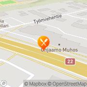 Kartta Pizza Kebab Muhos, Suomi