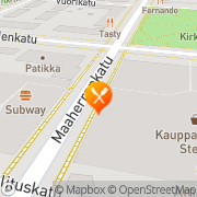 Kartta Ravintola Rosso Mikkeli, Suomi
