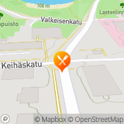 Kartta Pizzanpaikka Kuopio, Suomi