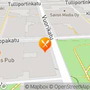 Kartta Ravintola Gloria Kuopio Kuopio, Suomi